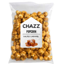 Popkorns ar sāļās karameles garšu, 120g, (CRMLSALT-XL)